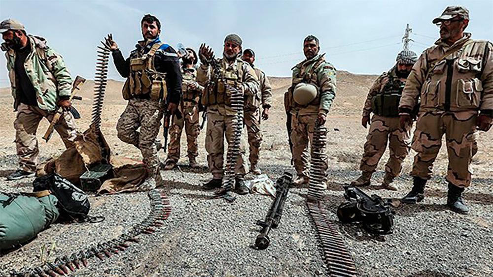 ИГИЛ умышленно уничтожило почти всю инфраструктуру газовых месторождений в Дейр эз-Зоре