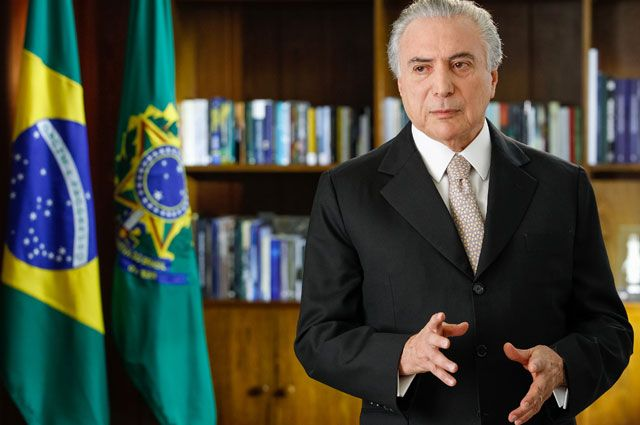 В Бразилии депутаты выступили против предъявления обвинений президенту