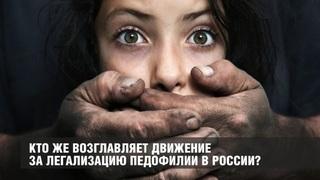 Кто же упорно толкает вперёд движение за легализацию педофилии в России?