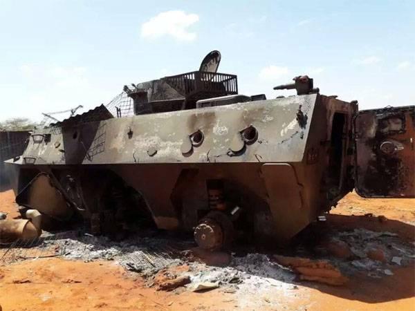 БТР Type 92 китайского производства были уничтожены боевиками на юге Кении