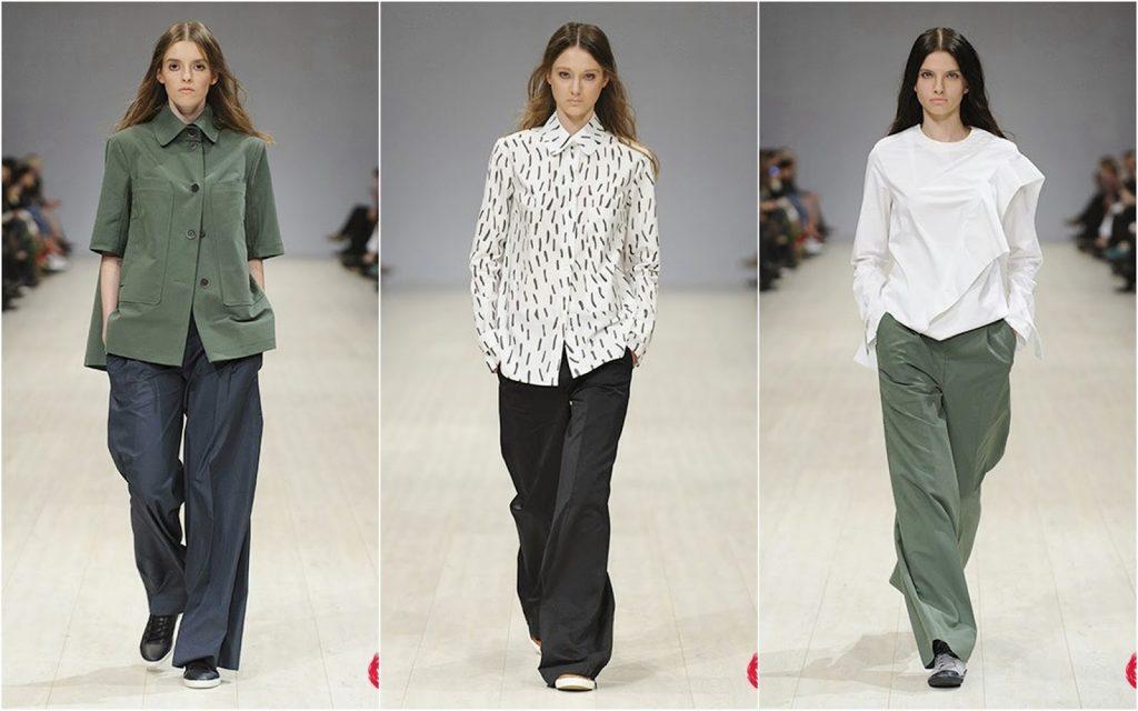 Женские брюки 2017 года модные тенденции