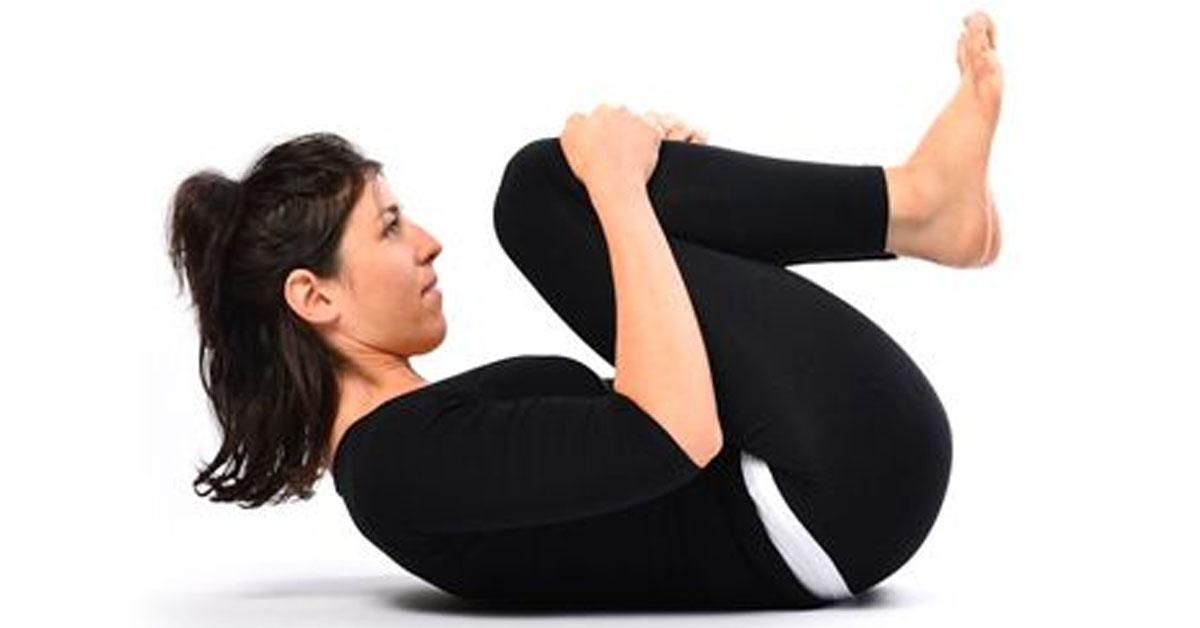 6 упражнений для снятия воспаления, вздутия живота и улучшения пищеварения