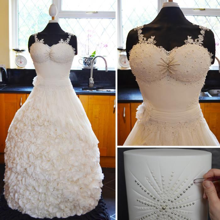 Это шикарное свадебное платье не захотела надеть ни одна невеста… Вы заметили почему?