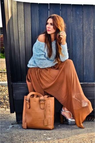 Как создать стильный образ с длинной юбкой: модные правила