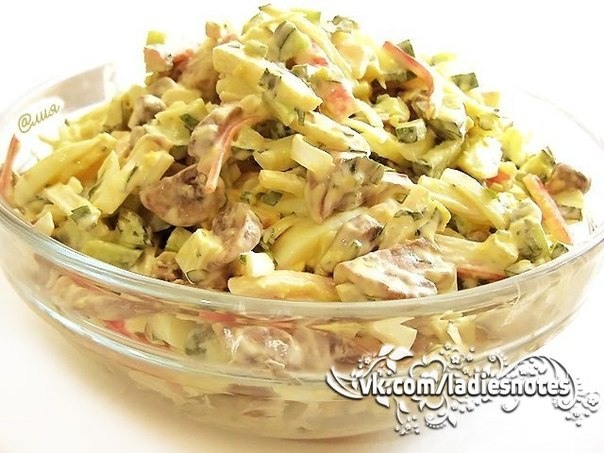 Рецепт салата алёнка