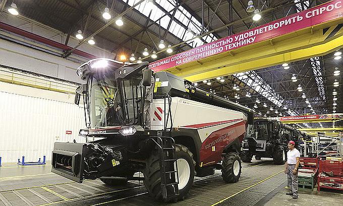 В России невиданными темпами растет сельскохозяйственное машиностроение