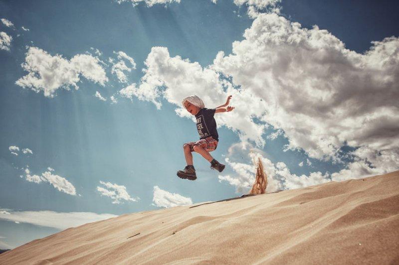 Песчаные барханы Элсен Тасархай, Монголия монголия, мотоцикл, мотоцикл с коляской, мотоцикл урал, путешественники, путешествие, средняя азия, туризм