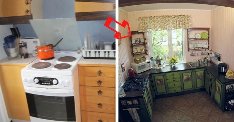 «Переезд» старой кухни на да…