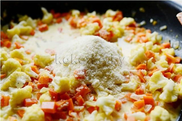 Салат горячий