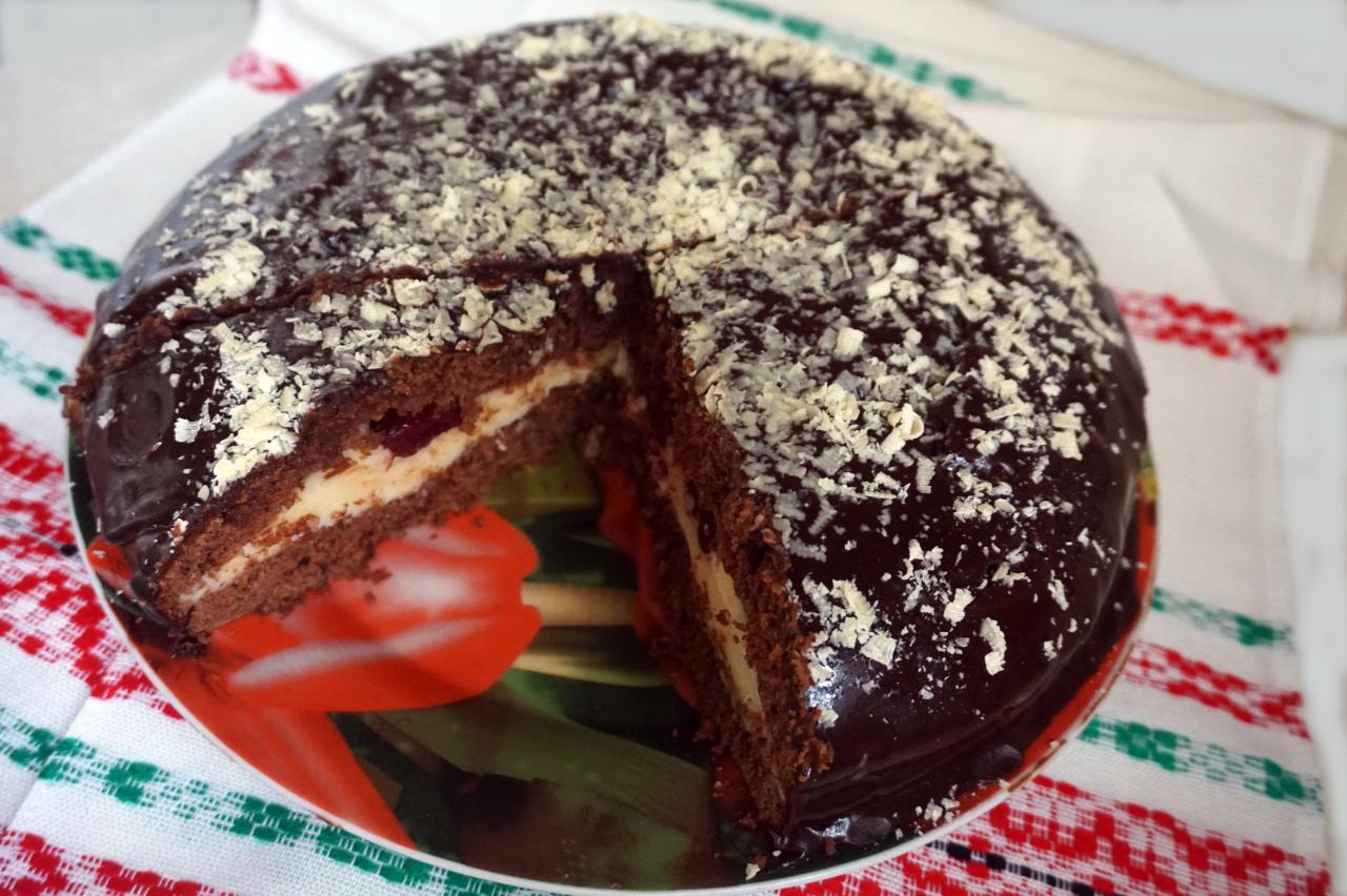 ПОХВАСТУШКИ! Таньянин шоколадный торт из детства