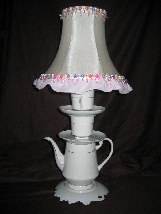 Чайная лампа: идеи