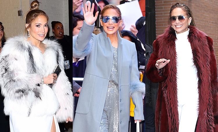 10 образов за два дня: Дженнифер Лопес устроила модное дефиле в Нью-Йорке
