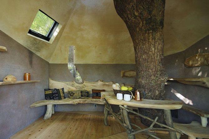 Настоящий чайный дом на десятиметровой высоте