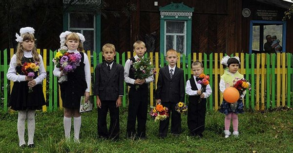 Классическое первое сентября в малокомплектной школе