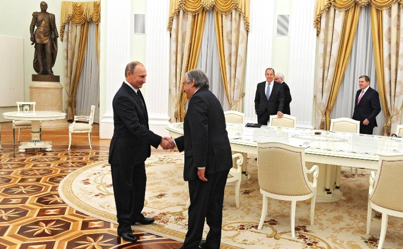ООН признаёт ведущую роль России в международных отношениях
