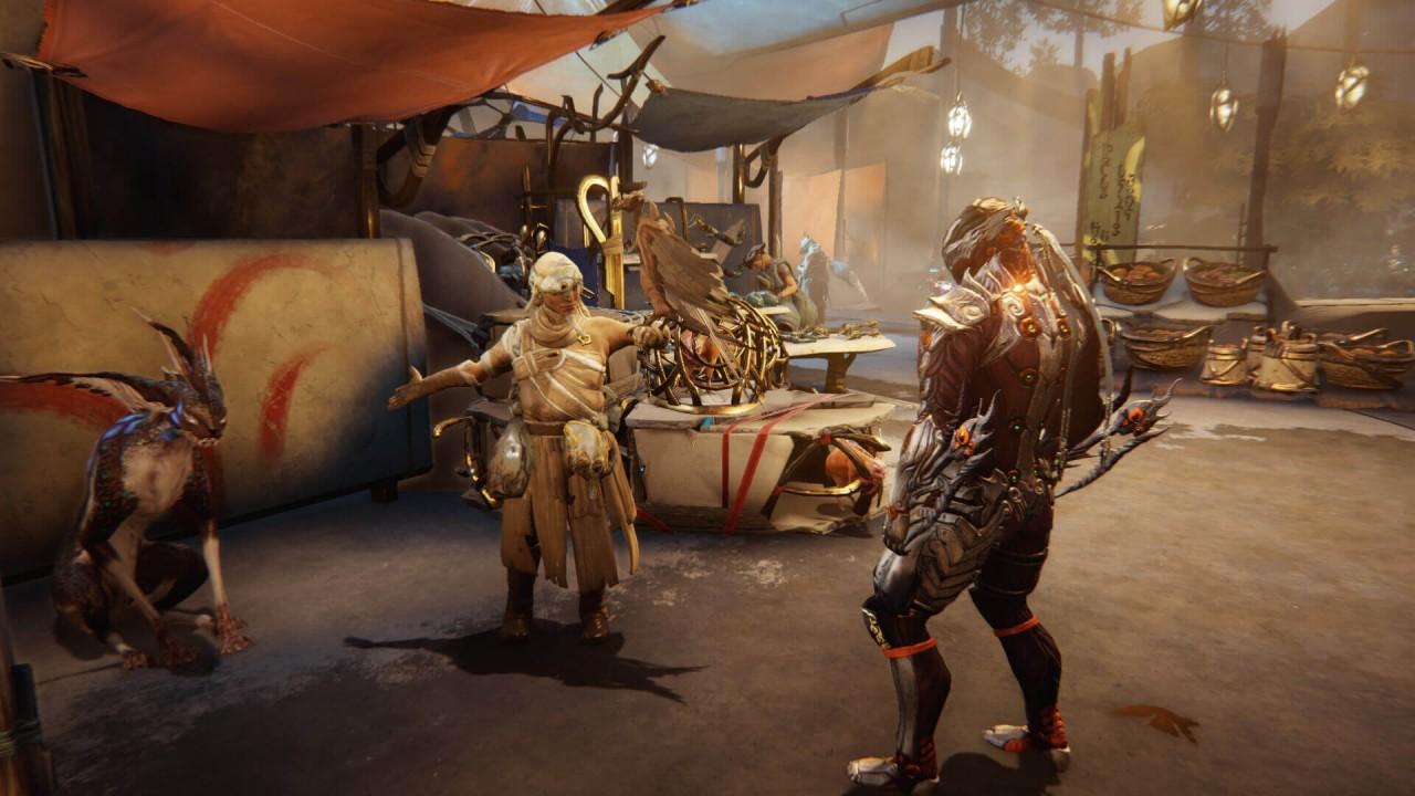 Тизер-трейлер и новый геймплей Warframe - Plains of Eidolon