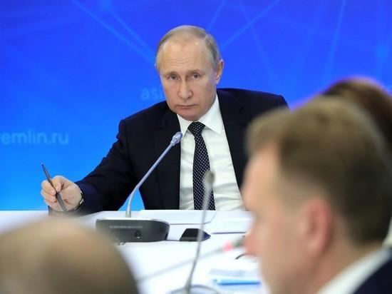 Путину презентовали искусств…