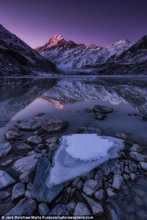 Гора Кука - самая высокая в Новой Зеландии в мире, красивые фото, красивый вид, пейзажи, природа, путешествия, фото, фотографы