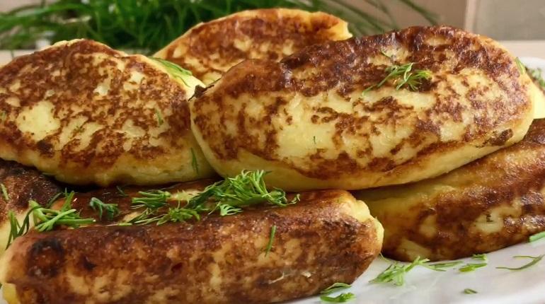 Картофельные зразы с начинкой из кабачков: для ленивой хозяйки
