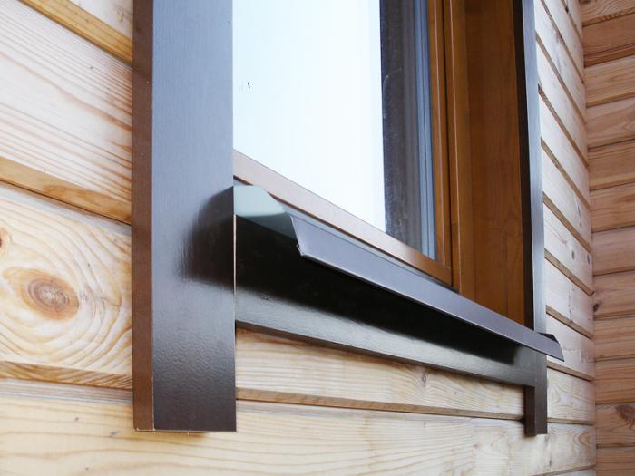 Современные окна для загородного дома.