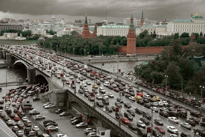 Пробки в столице. | Фото: img-2006-11.photosight.ru.