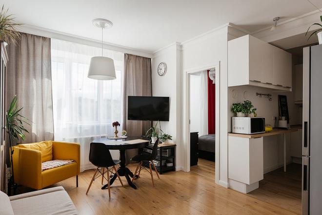 Из однушки 44 кв.м — квартира со спальней