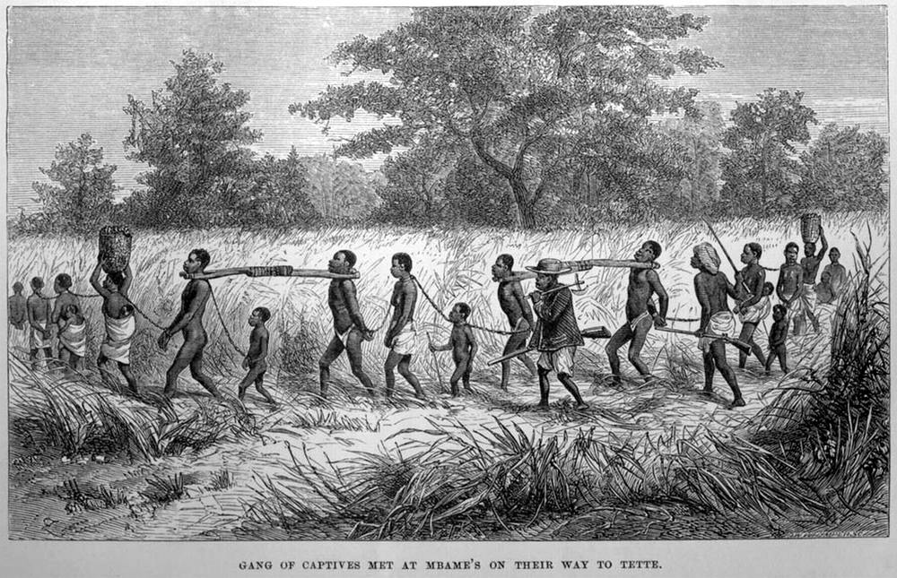 Захват рабов в Африке. Иллюстрации американских и европейских художников