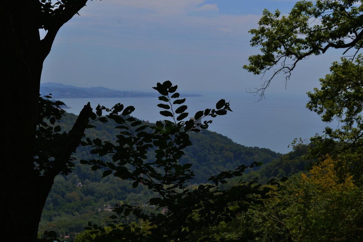 Виды на море с горы Бытха
