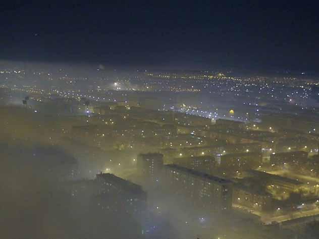 Среди 12 городов с самым грязным воздухом оказалось 6 сибирских