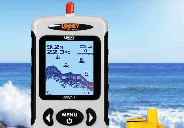 Беспроводной эхолот Lucky FFW718: отзывы, описание, характеристики