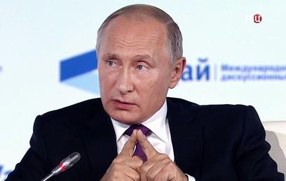 Путин допустил, что президентом России может стать женщина