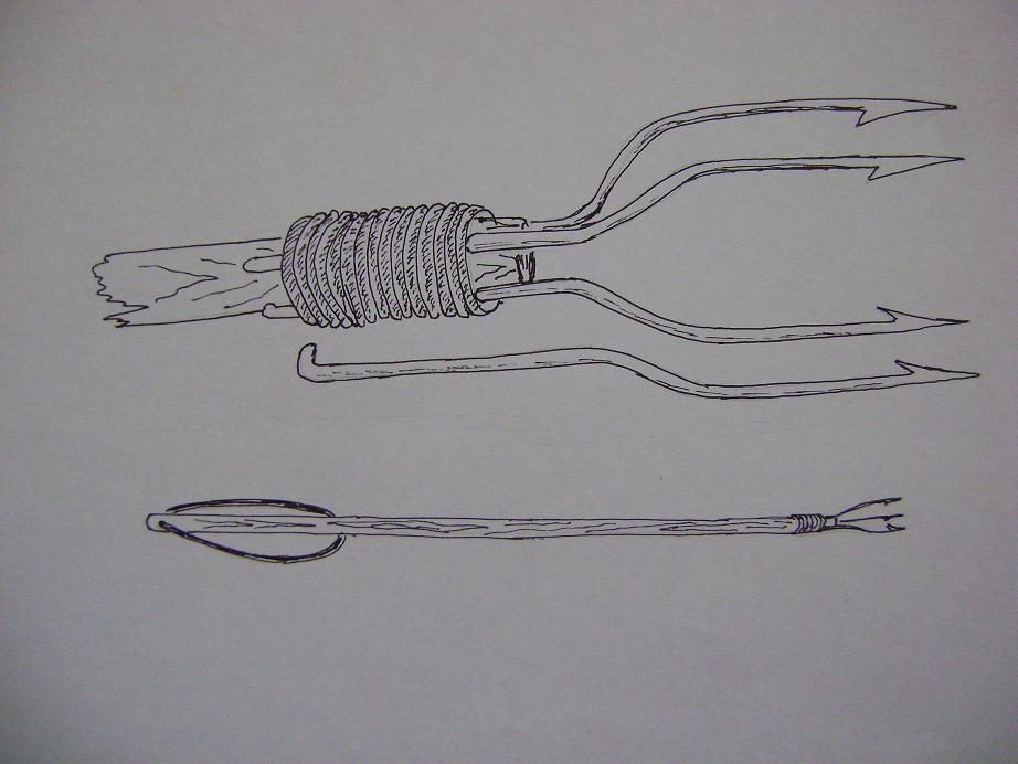 Как сделать острогу для ловли рыбы своими руками без сварки