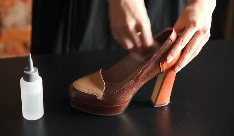 туфли и спирт