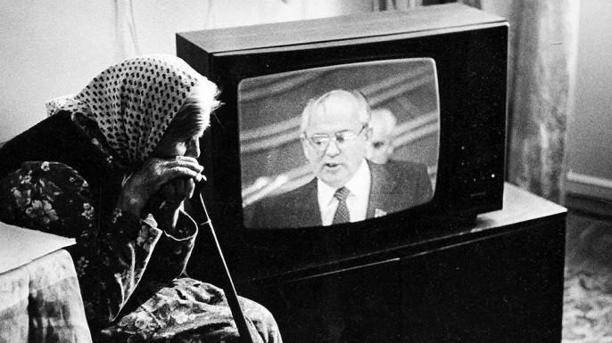 Дефицит продуктов при Горбачеве