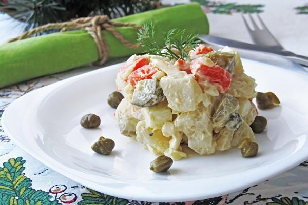 Картофельный салат по-чешски