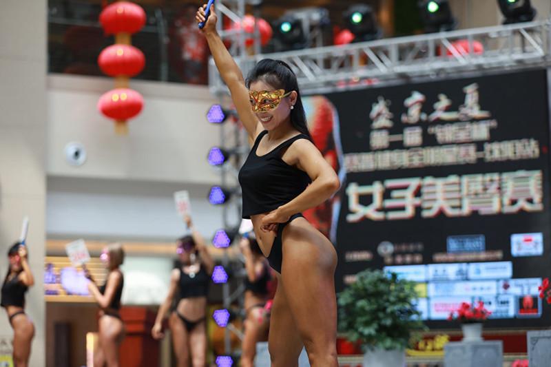 В Китае выбрали обладательницу самых красивых ягодиц девушки, китай, фото