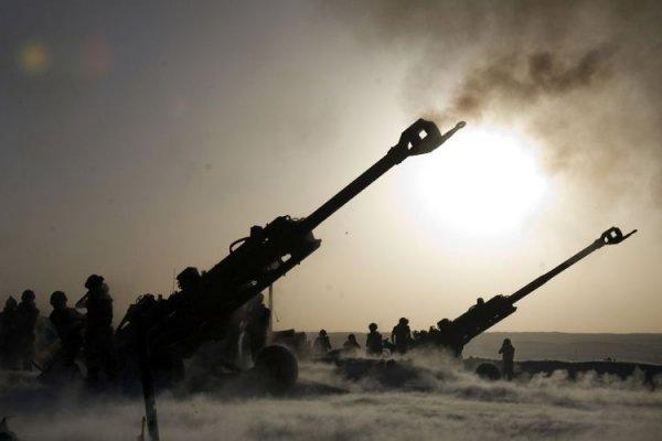 Турки обстреливают российский спецназ