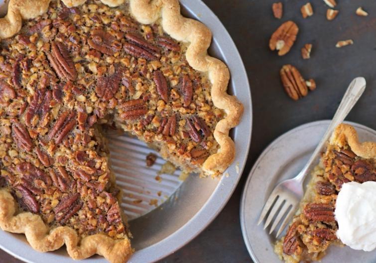 украшение пирога, как украсить пирог