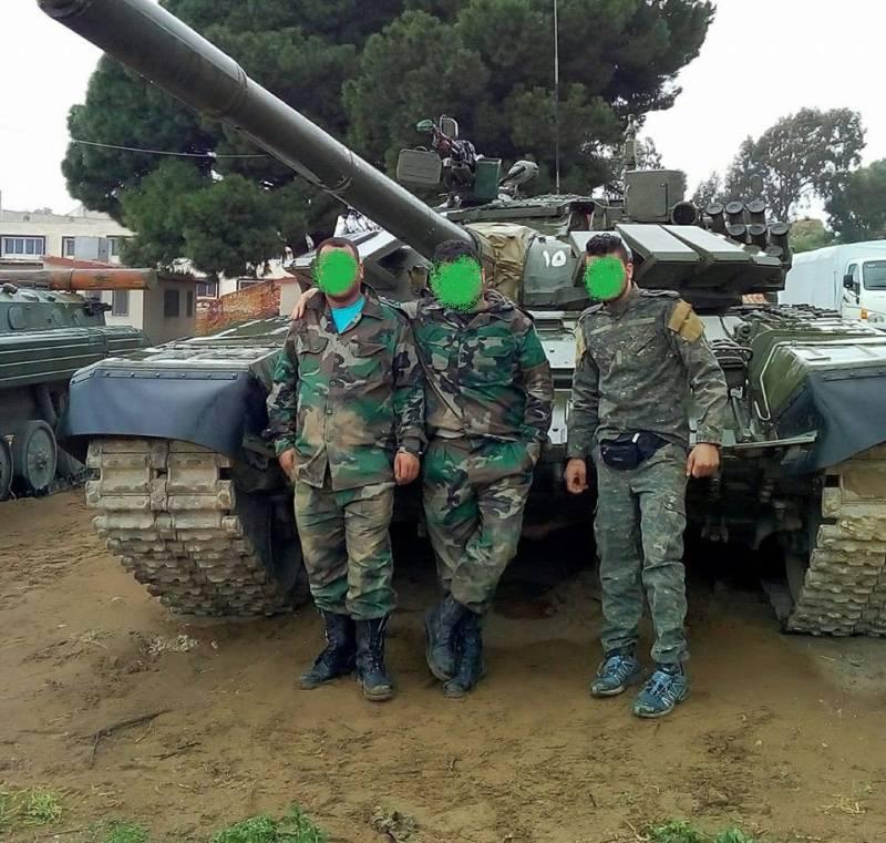 Т-72Б3 продолжают сражаться на сирийских фронтах