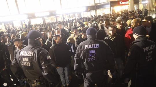 Партия зелёных обвинила полицию Кёльна в расизме после массовых задержаний