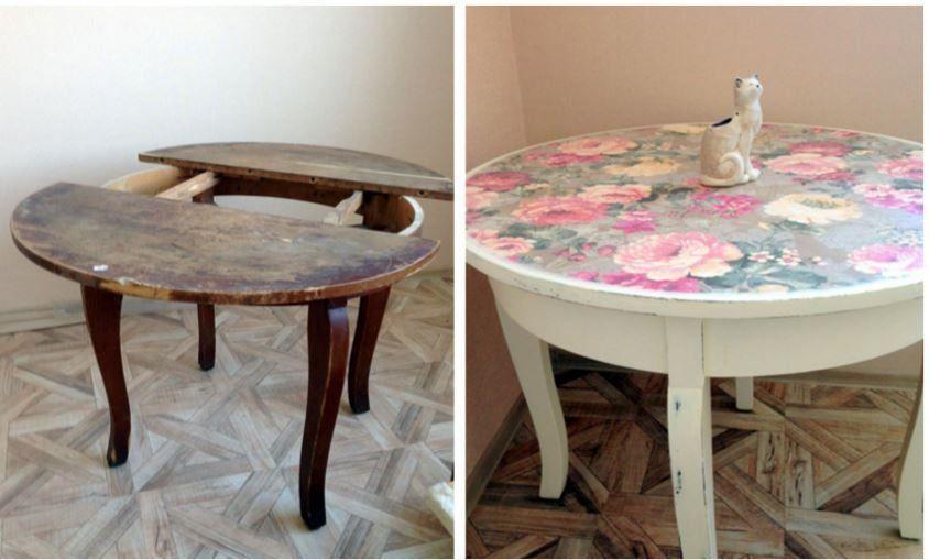 Это был старый стол с чердака! 12 идей, которые превратят твою рухлядь в изюминку интерьера