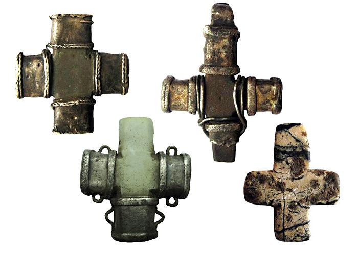 Древнерусские каменные тельные кресты, XI - XIII вв.