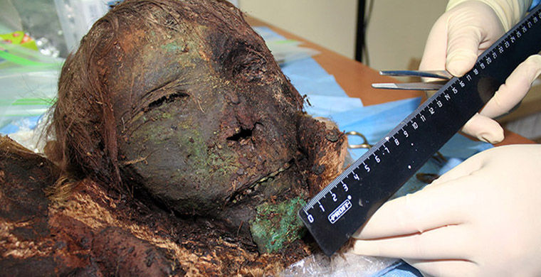 Близ Салехарда нашли мумию «полярной принцессы»