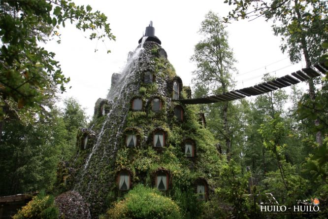 Отель «Magic Mountain Lodge» - волшебная гора-вулкан