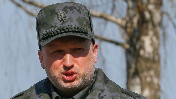"""Турчинов призвал украинских военных """"не проскочить границу"""" при наступлении на Донбасс"""