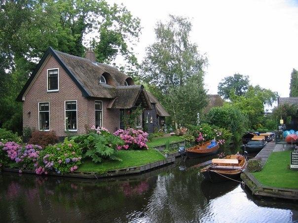 Гитхорн: голландская Венеция