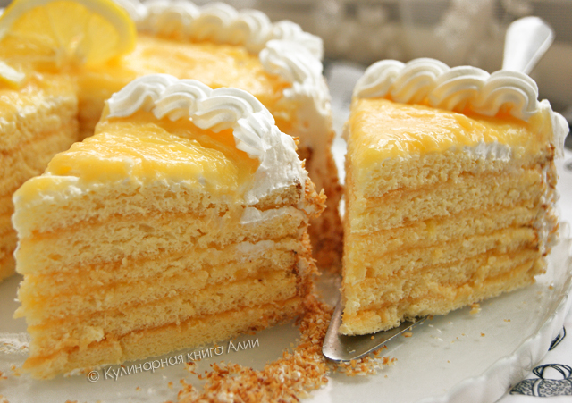 Торт Лимонно-Кокосовый «Сладкая жизнь»