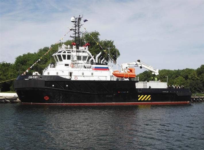 Буксир СБ-737 вошёл в состав Балтийского флота