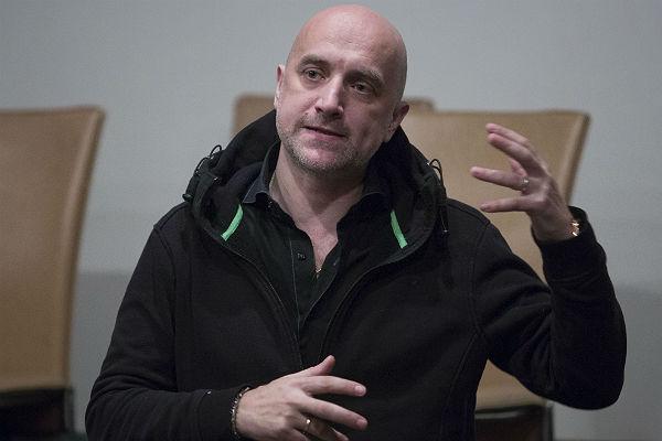 Прилепин отказался воевать в Донбассе за капитализм