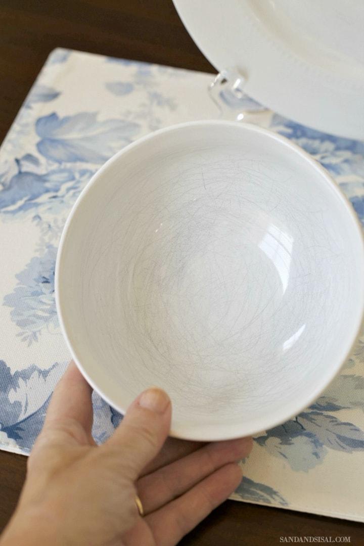 Чудо-средство, которое удалить царапины с любимой тарелки
